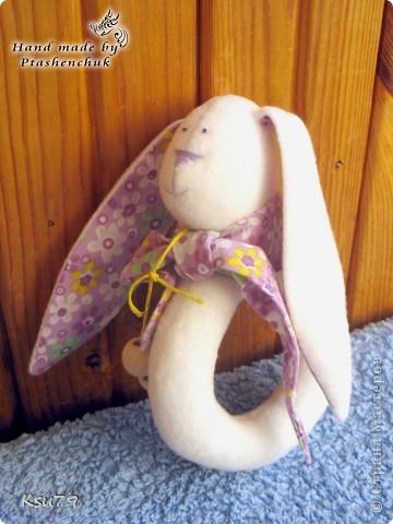 мои любимые махровые зайки))) У каждого зайки есть сердечко-саше. у розового пушистика сердечко с душицей фото 5