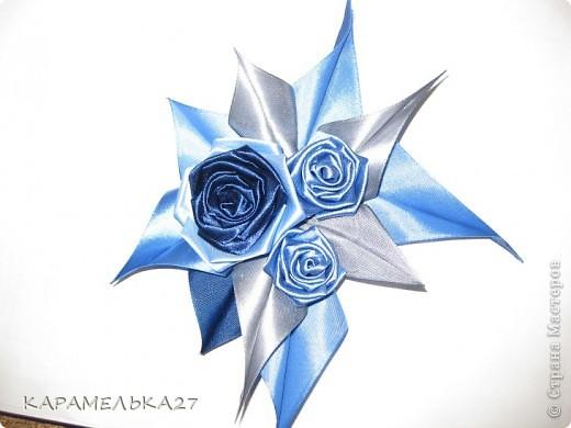 Доброго дня всем жителям страны выкладываю еще несколько работ. голубая мечта. ободок фото 3