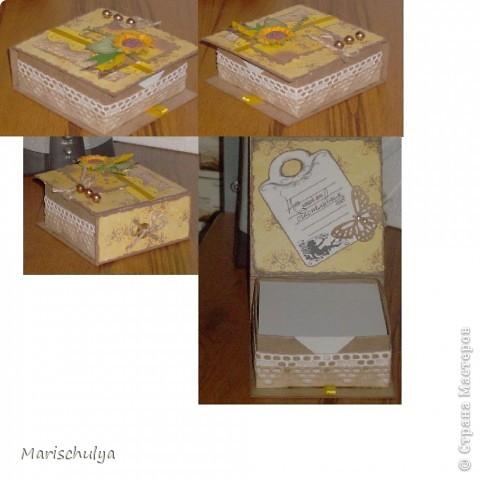 Доброго времени суток, Страна! Сегодня я покажу два блока бумаг для записи, сделанные для двух моих начальниц. Блок №1. фото 5