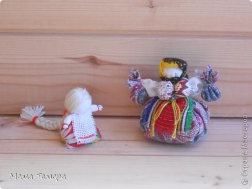 """Куклы """"На счастье"""" и """"Травница- кубышка"""", наполненная полынью( поэтому живет в банке, уж очень душистая девушка получилась) фото 1"""