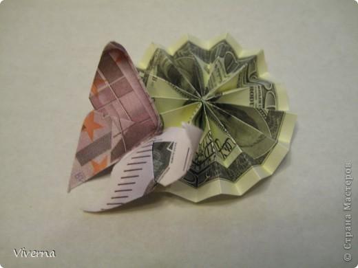 спросили меня в этой работе, как бабочку делала... http://stranamasterov.ru/node/396350  поискала, не нашла в СМ, чтобы ссылку дать..может искала не так....сама я ее научилась делать еще на заре увлечения оригами, лет 10 назад, в какой-то детской книжке...а т.к. складывается бабочка до невозможного просто, то сделав ее один раз, Вы уже никогда не забудете, как ее сделать )) фото 1