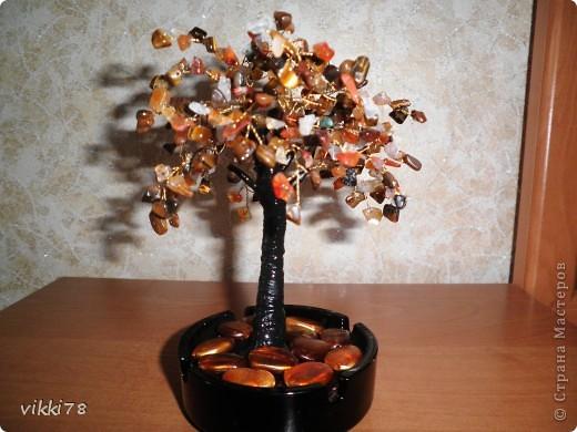 очень хотелось сделать деревце из камешков.вот результат. фото 1