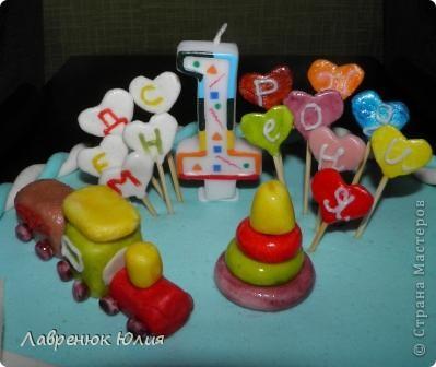 Тортики на годик фото 2