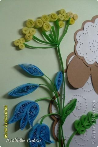 """Здраствуйте, догогие мастерицы.В детский сад попросили сделать несколько работ в кабинет логопеда. Первая работа """"Зайка в лейке""""   http://stranamasterov.ru/node/387652    у меня уже есть. В таком же  стиле сделала """"Овечку""""  по МК  http://stranamasterov.ru/node/97987?c=favorite   фото 2"""