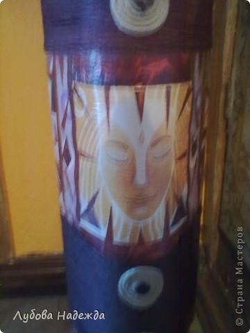 Африканская ваза.(повторюшка) фото 3