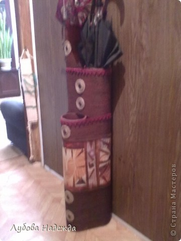 Африканская ваза.(повторюшка) фото 2