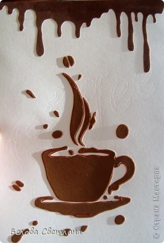 """На Хомячке стартовало новое квиллинг задание """"Десерт"""" : http://homyachok-scrap-challenge.blogspot.com/  Приглашаю посмотреть потрясающие работы дизайнеров!!! А ещё приглашаю Вас присоединиться к нашему заданию со своими сладостями и вкусностями.... Ведь счастье можно приготовить своими руками!!!! Миллионы женщин любят осень... Листопад и звон дождливых струй... Тщательно отмеренные дозы - Кофе... Шоколад... И поцелуй... У меня родился кофейный десерт...  фото 4"""