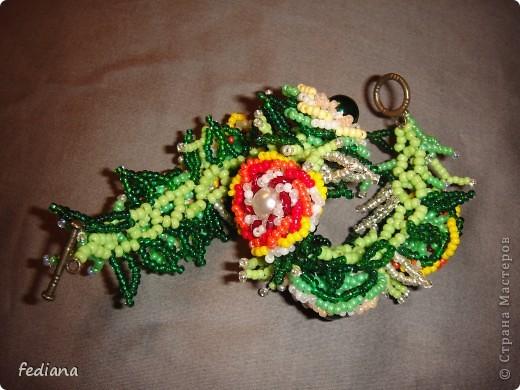 Вот сплела за два вечера новые браслеты по интернетовским схемам. фото 6