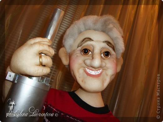 Не очень люблю делать портретные куклы,но меня всегда уговаривают!!!! и вот результат очередной портретной куклы.  фото 3
