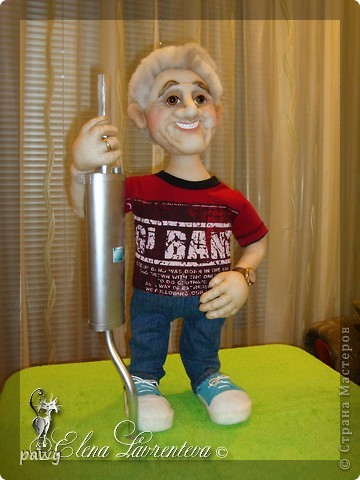 Не очень люблю делать портретные куклы,но меня всегда уговаривают!!!! и вот результат очередной портретной куклы.  фото 2