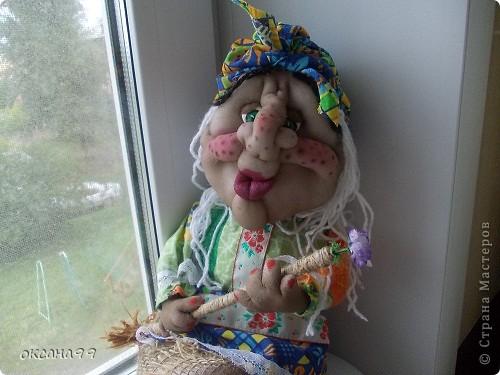 Здравствуйте! Бабу-Ягу делала по работе Ликма.  фото 2