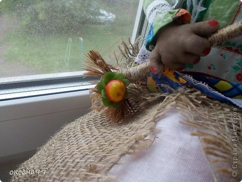 Здравствуйте! Бабу-Ягу делала по работе Ликма.  фото 3