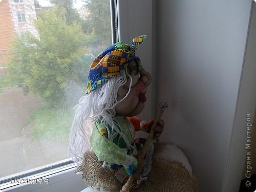 Здравствуйте! Бабу-Ягу делала по работе Ликма.  фото 8