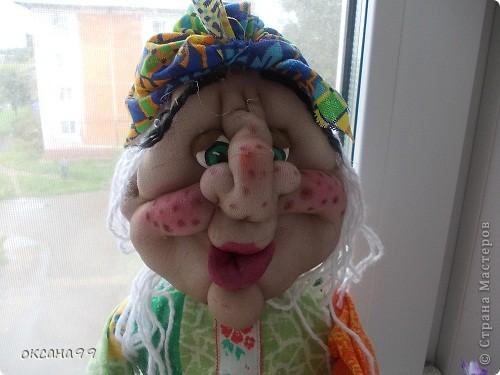 Здравствуйте! Бабу-Ягу делала по работе Ликма.  фото 9