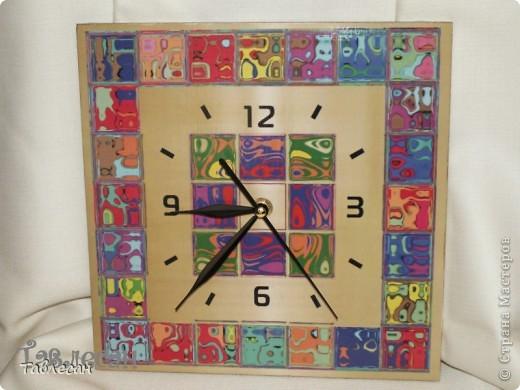 """Часы """"Хундертвассер в стиле Фрей Вилл в моей интерпретации"""" фото 5"""