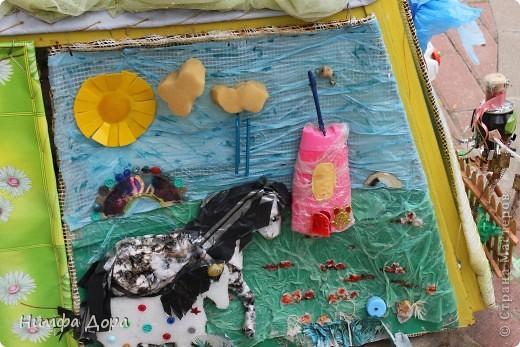 Девиз конкурса: «Как это здорово, весело и правильно — превращать мусор в красоту!» фото 6