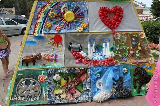 Девиз конкурса: «Как это здорово, весело и правильно — превращать мусор в красоту!» фото 18