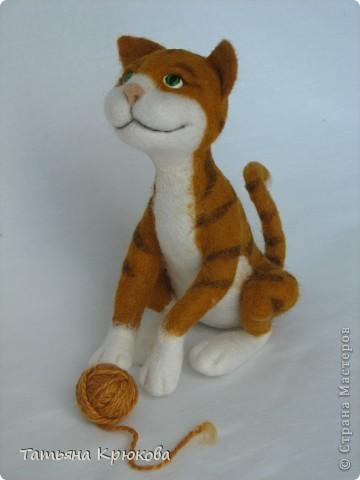 Рыжий кот,почти что тигр... фото 1