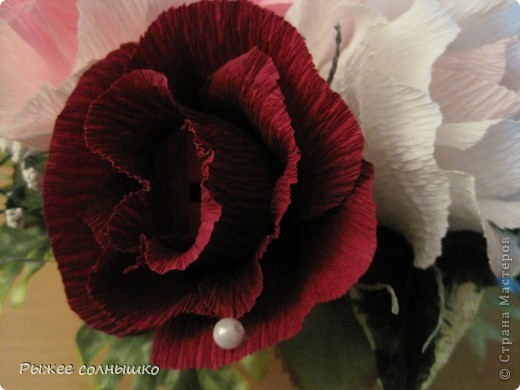 Сладкая корзинка из 9 роз фото 10
