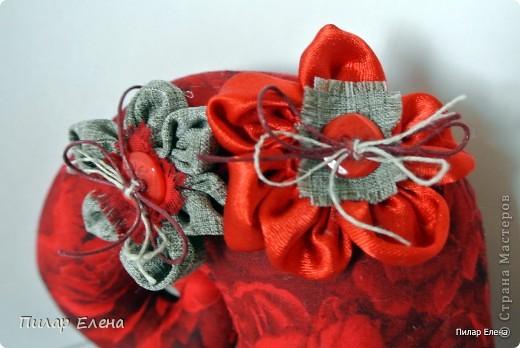 Улитка в багряных тонах, шилась в подарок, подобрана в цвет интерьера фото 2