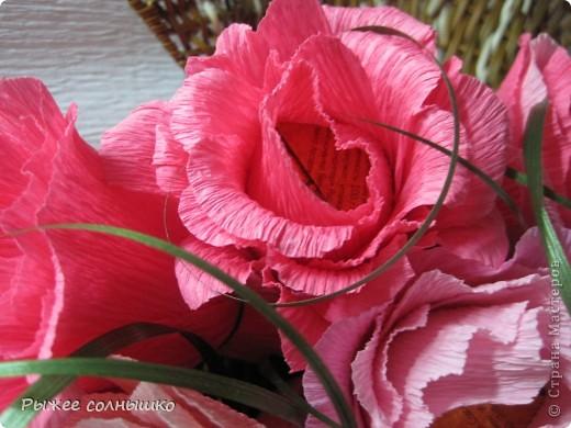 Общий план - в ракушке 11 роз фото 2