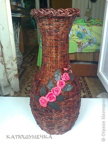 Хвастаюсь! напольная ваза! фото 1