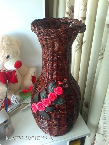 Хвастаюсь! напольная ваза! фото 4