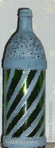 Эти бутылочки оформлялись еще зимой-весной, а вот показать решила сейчас... фото 2