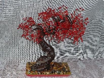 В Год Дракона сотворила деревце одноименное.  фото 1