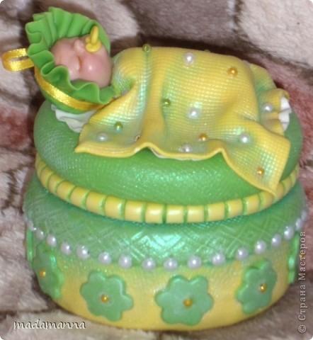 Декор предметов Лепка Дефиле младенцев Банки стеклянные Фарфор холодный фото 16