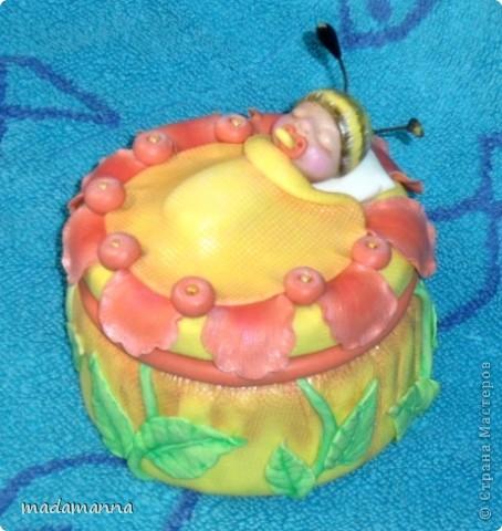 Декор предметов Лепка Дефиле младенцев Банки стеклянные Фарфор холодный фото 6