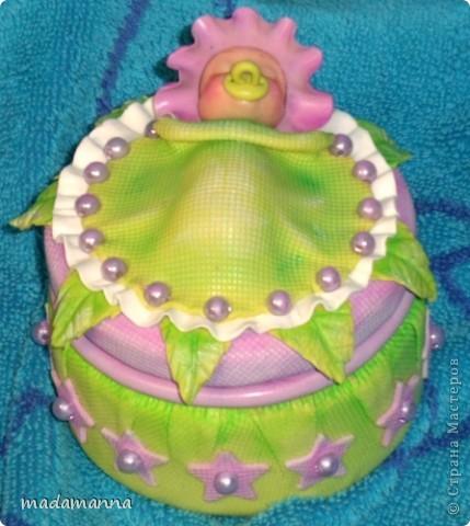 Декор предметов Лепка Дефиле младенцев Банки стеклянные Фарфор холодный фото 1