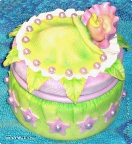 Декор предметов Лепка Дефиле младенцев Банки стеклянные Фарфор холодный фото 4