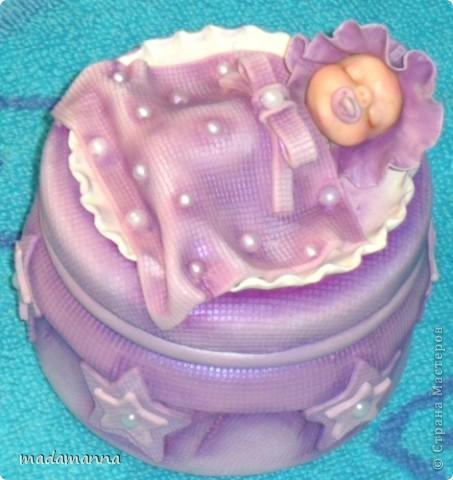Декор предметов Лепка Дефиле младенцев Банки стеклянные Фарфор холодный фото 13