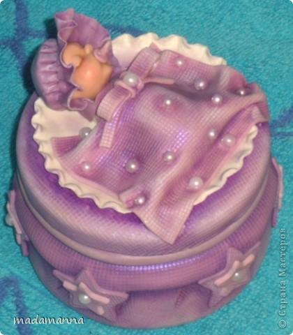 Декор предметов Лепка Дефиле младенцев Банки стеклянные Фарфор холодный фото 14