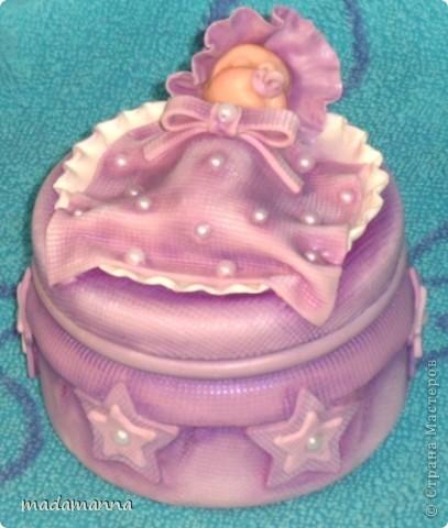 Декор предметов Лепка Дефиле младенцев Банки стеклянные Фарфор холодный фото 15