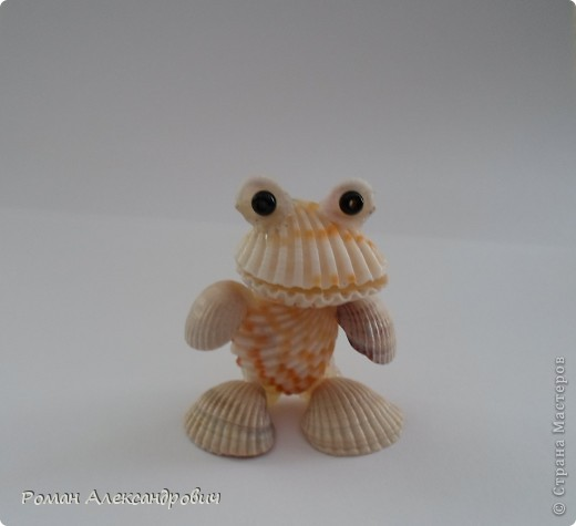 Лягушата из ракушек фото 1