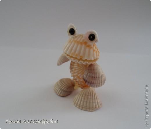 Лягушата из ракушек фото 2
