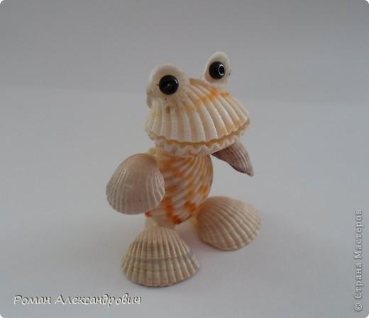 Лягушата из ракушек фото 3