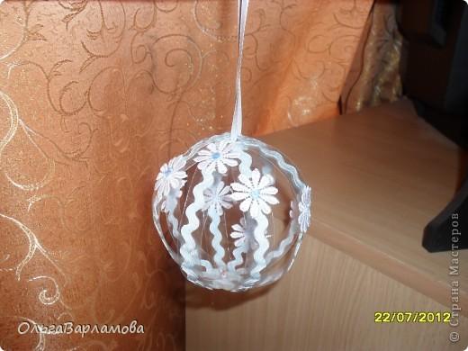 Вот такие у меня получились шары из пластиковых бутылок фото 4