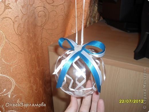 Вот такие у меня получились шары из пластиковых бутылок фото 5