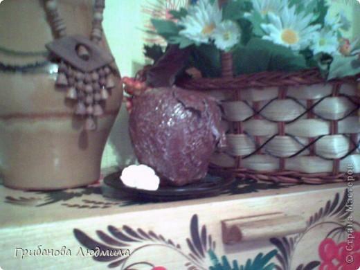 Добрый день, жители Страны. Очень люблю шоколад и шоколадные конфеты и мороженое шоколад в шоколаде. И как же аппетитно выглядели яблоки Елены КЗ, что захотелось сделать хоть одно. Здесь яблоки вдохновители: http://stranamasterov.ru/node/394174?c  фото 4