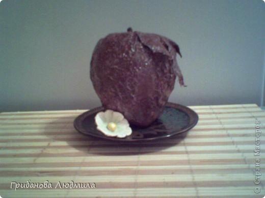 Добрый день, жители Страны. Очень люблю шоколад и шоколадные конфеты и мороженое шоколад в шоколаде. И как же аппетитно выглядели яблоки Елены КЗ, что захотелось сделать хоть одно. Здесь яблоки вдохновители: http://stranamasterov.ru/node/394174?c  фото 2