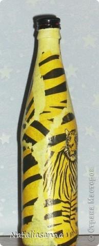 Эти бутылочки оформлялись еще зимой-весной, а вот показать решила сейчас... фото 5