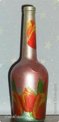 Эти бутылочки оформлялись еще зимой-весной, а вот показать решила сейчас... фото 9
