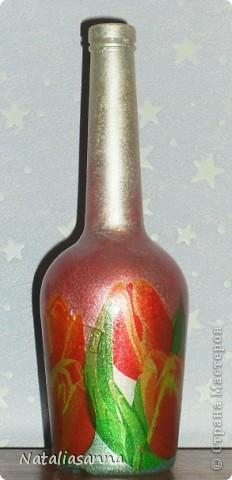 Эти бутылочки оформлялись еще зимой-весной, а вот показать решила сейчас... фото 10