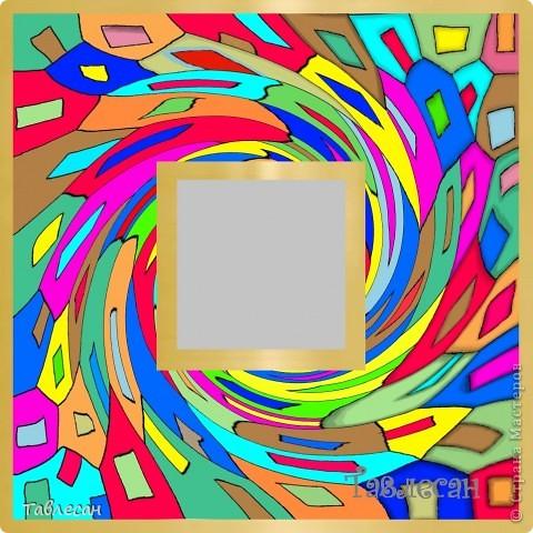 """Часы """"Хундертвассер в стиле Фрей Вилл в моей интерпретации"""" фото 9"""