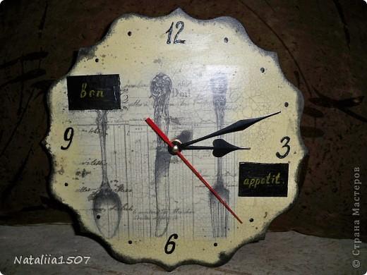 Часы - обновка для кухни