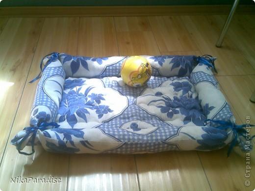 Лежак для кошки. Кошачья корзинка фото 3