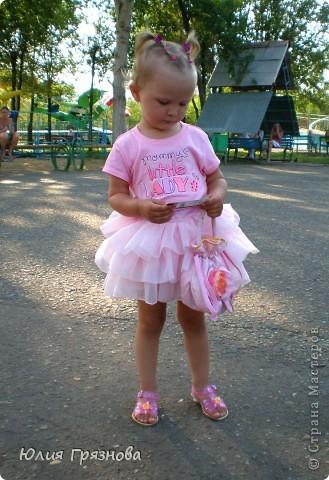 Панамка и платье для летних прогулок принцессы! Увидела эту ткань и не смогла пройти мимо, не купив ее, так она мне понравилась своей нежностью! фото 8